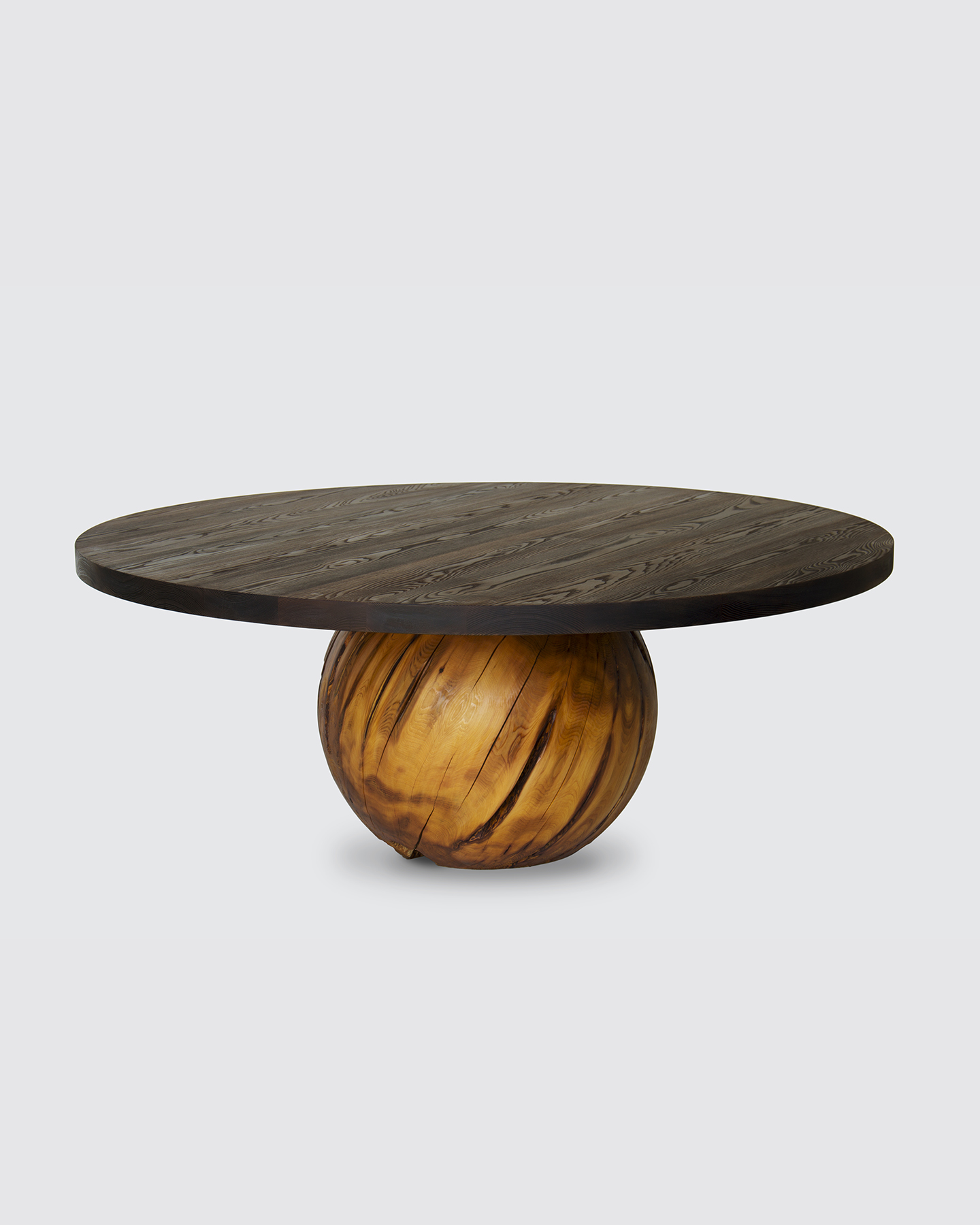 "Sphere Dining Table - 72"" Thermalwood"