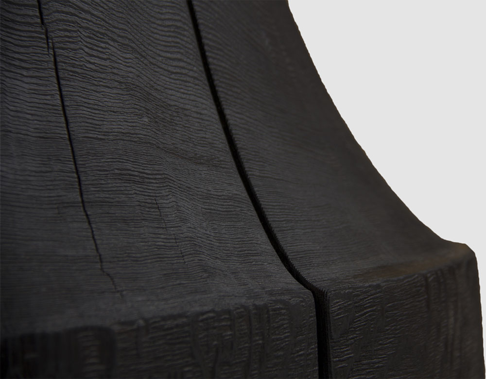 Tafoni Scorched Base Detail